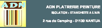 ADN – Plâtrerie peinture isolation à Nantua dans l'Ain